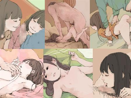 (同人CG集)[140814][おとひめ] 快楽に堕ちていく無垢な少女たち,淫魔との暮らし方 (2CG)