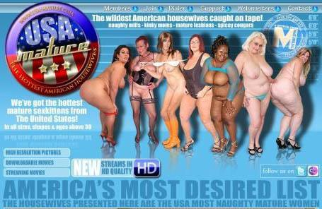 USAMatureHousewives (SiteRip) Image Cover