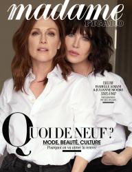 Julianne Moore and Isabelle Adjani - Madame Figaro France August 2018