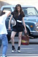 Hailee Steinfeld | On the Set of a Photoshoot in LA | August 17 | 28 pics