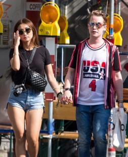 Brenda Song & Macaulay Culkin - Hand-in-Hand Together While Sightseeing in Berlin (8/16/18)