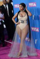 Nicki Minaj wears C through dress @ the 2018 MTV VMA 79284572_nicki-minaj-sexy-thefappeningblog-com-2