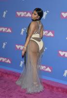 Nicki Minaj wears C through dress @ the 2018 MTV VMA 79284599_79258005_nicky-017
