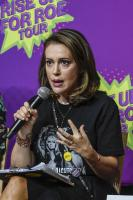 Alyssa Milano - Rise Up For Roe Tour at Lou Ruvo Center for Brain Health in Las Vegas 08/20/2018