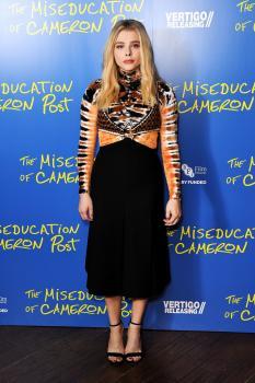 "Chloë Grace Moretz ""The Miseducation of Cameron Post"" Gala Screening London 8/2"