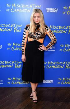 "Chloë Grace Moretz ""The Miseducation of Cameron Post"" Gala Screening London 8/2"