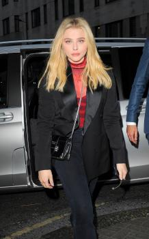 Chloë Grace Moretz at Sexy Fish restaurant in London 8/22/18