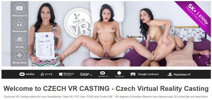 CzechVRCasting (SiteRip) Image Cover