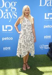 Tori Spelling - 'Dog Days' World Premiere in LA (8/5/18)