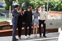Emma Stone arriving at the Casino di Venezia - IFF Venice - Aug 30