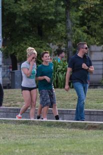 Britney Spears - Stolling Around Berlin (8/5/16)