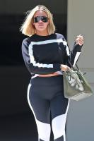 Khloe Kardashian - Shows Off Her Post Baby Body In  Out In LA (8/6/18)