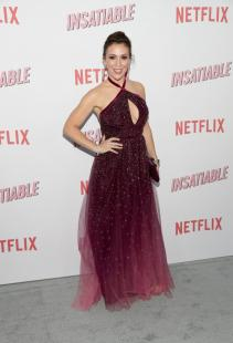 "Alyssa Milano - Netflix's ""Insatiable"" Season 1 Premiere in Hollywood (8/9/18)"